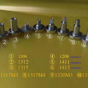 LED Display modules cylinder magnet